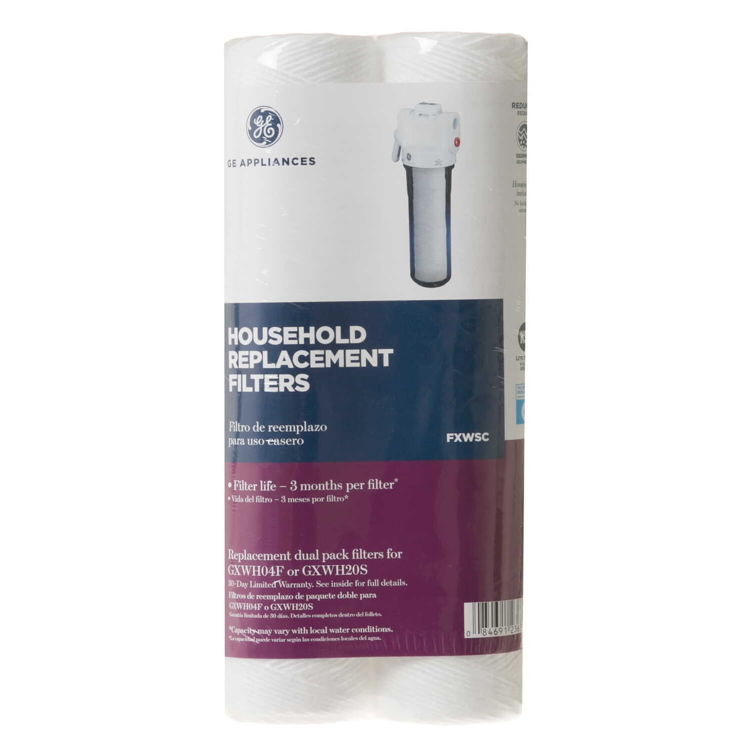 GE Appliances  Replacement Water Filter  For Whole House 30,000 gal.