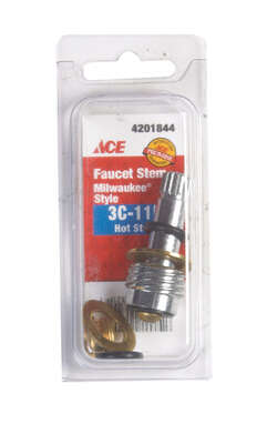 Ace  Hot and Cold  3C-11H  Faucet Stem  For Milwaukee