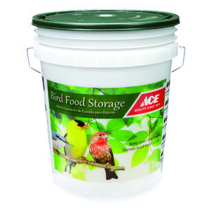 Ace  5 gal. Bird Seed Bucket  Assorted