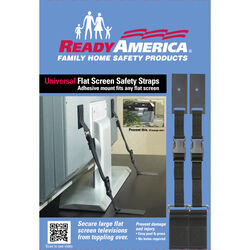 Ready America 10 in. to 70 in. 150 lb. capacity Flat Screen Safety Strap