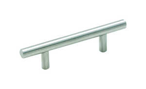 Amerock  Bar Pulls  Bar Pulls  Bar  Cabinet Pull  3 in. Stainless Steel  1 pk