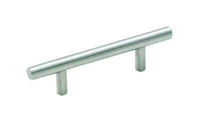 Amerock  Bar Pulls  Bar  Cabinet Pull  3 in. Stainless Steel  1 pk