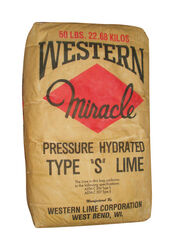 Western  Miracle Type S  Hydrated Lime  50 lb.
