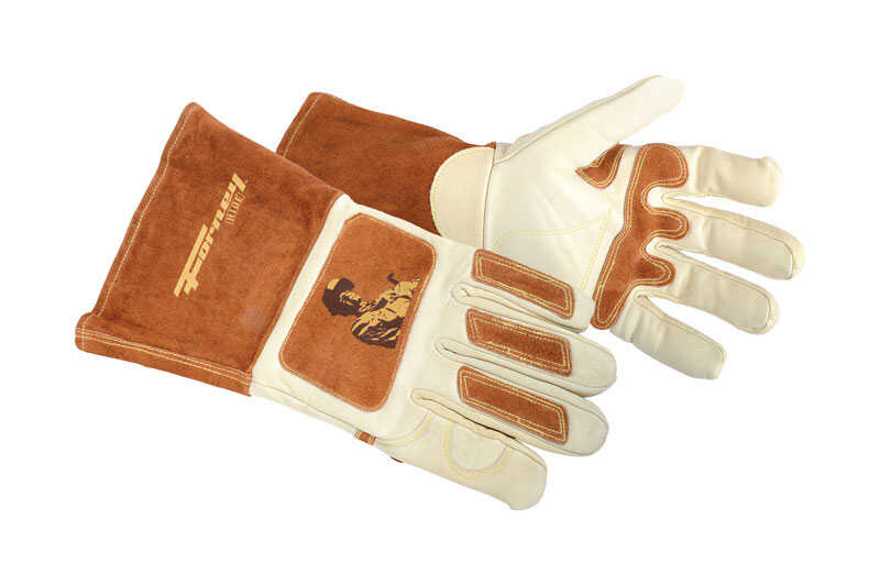 Forney  12.625 in. Cowhide  Welding Gloves