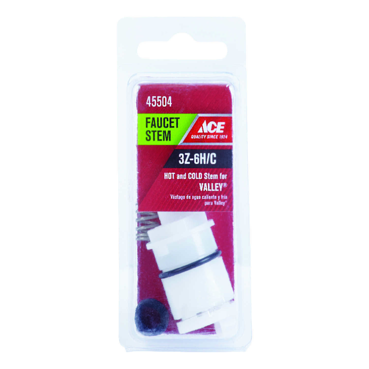 Ace  Hot and Cold  3Z-6H/C  Faucet Stem  For Valley