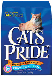 Cat's Pride  Cat Litter  20 lb. Fresh and Clean Scent