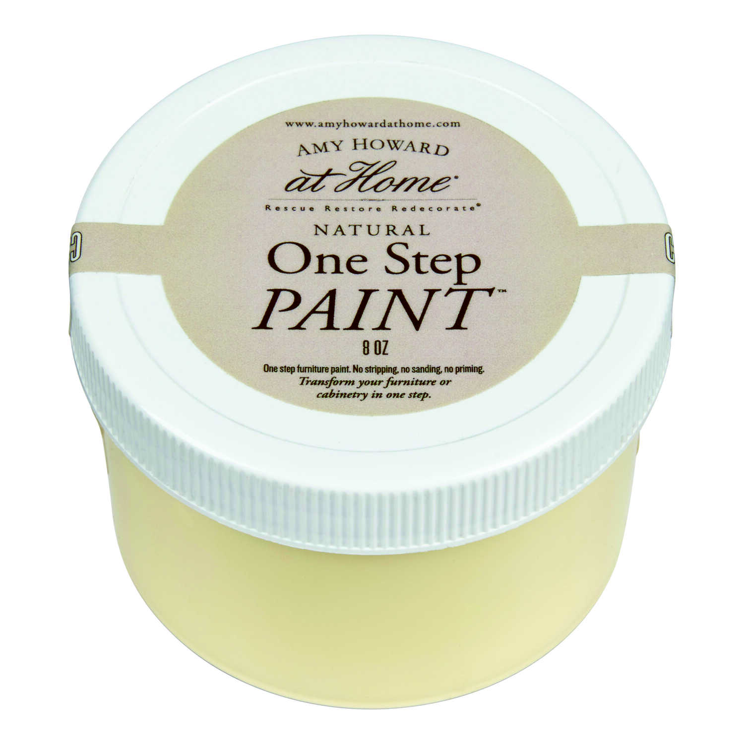 Amy Howard at Home  Flat Chalky Finish  Mollie Yellow  One Step Paint  8 oz.
