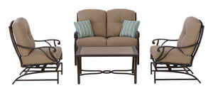 Living Accents  4 pc. Somerset  Patio Set  Brown