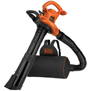 Black and Decker  Electric  Blower/Mulcher/Vac  12 amps