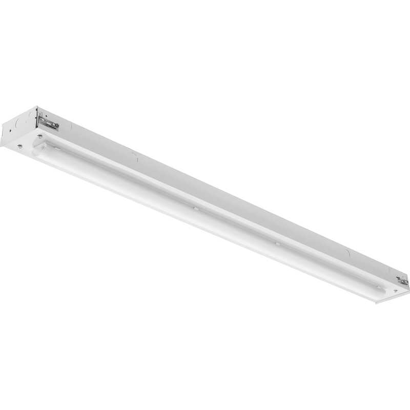 Lithonia Lighting  96 in. L White  Hardwired  Strip Light  8000 lumens