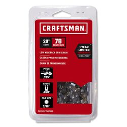 Craftsman  20 in. 78 links Low Kickback Saw Chain