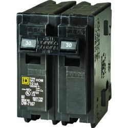 Square D  HomeLine  30 amps Surge  2-Pole  Circuit Breaker