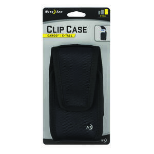 Nite Ize  Clip Case Cargo  Black  Cell Phone Case  For Universal Universal