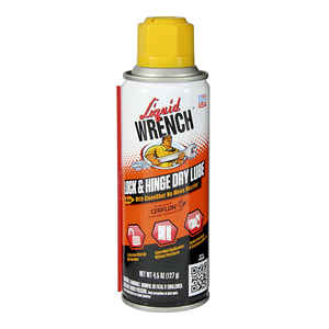 Liquid Wrench  Lock & Hinge  Dry  Lubricant  4.5 oz.