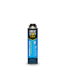 Great Stuff Pro  Window & Door  Yellow  Polyurethane Foam  Window and Door  Insulating Sealant  20 o