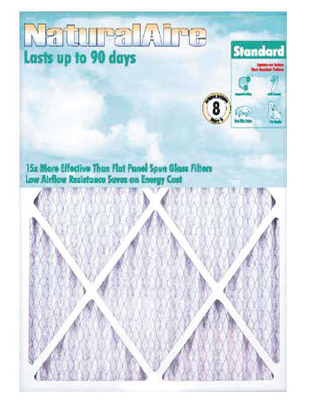 Flanders  NaturalAire  10 in. W x 36 in. H x 1 in. D Pleated Air Filter