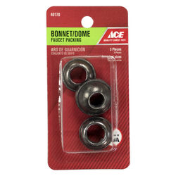 Ace  3/8 in. Dia. x 3/8 in. Dia. Rubber  Bonnet and Dome Faucet