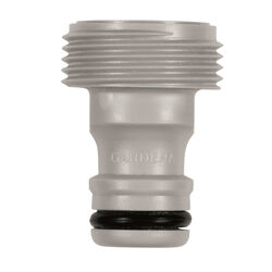 Gardena  5/8 & 1/2 in. Nylon/ABS  Threaded  Male  Hose Accessory Connector