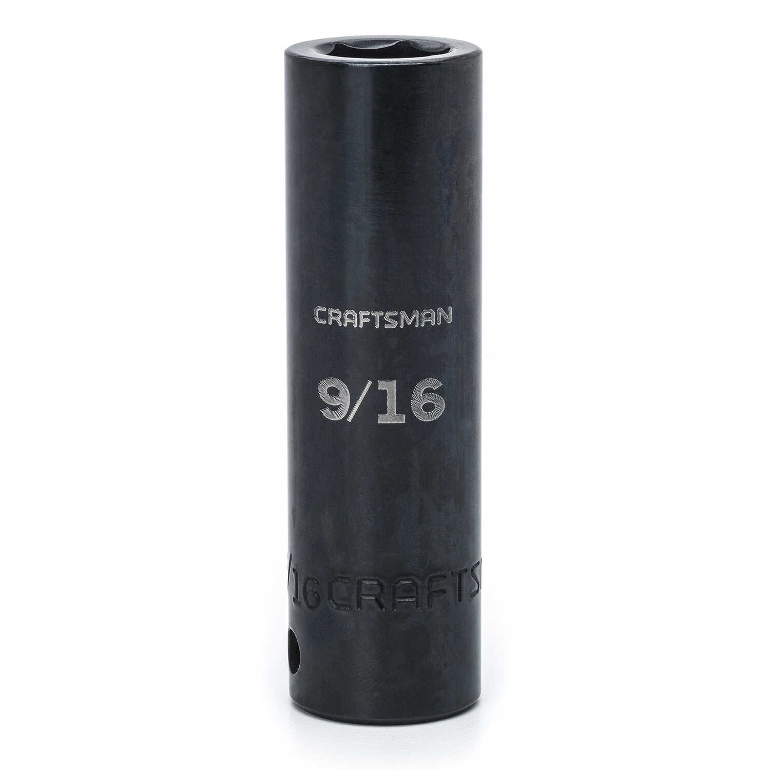 Craftsman  9/16 in.  x 1/2 in. drive  SAE  6 Point Deep  Impact Socket  1 pc.