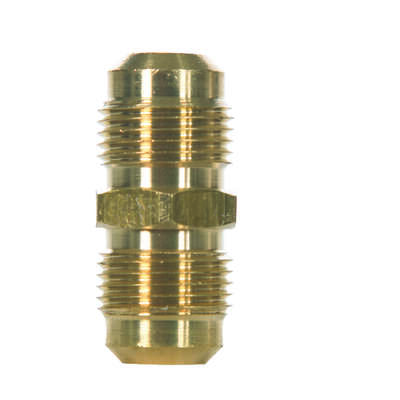 JMF  5/8 in. Flare   x 5/8 in. Dia. Flare  Brass  Union