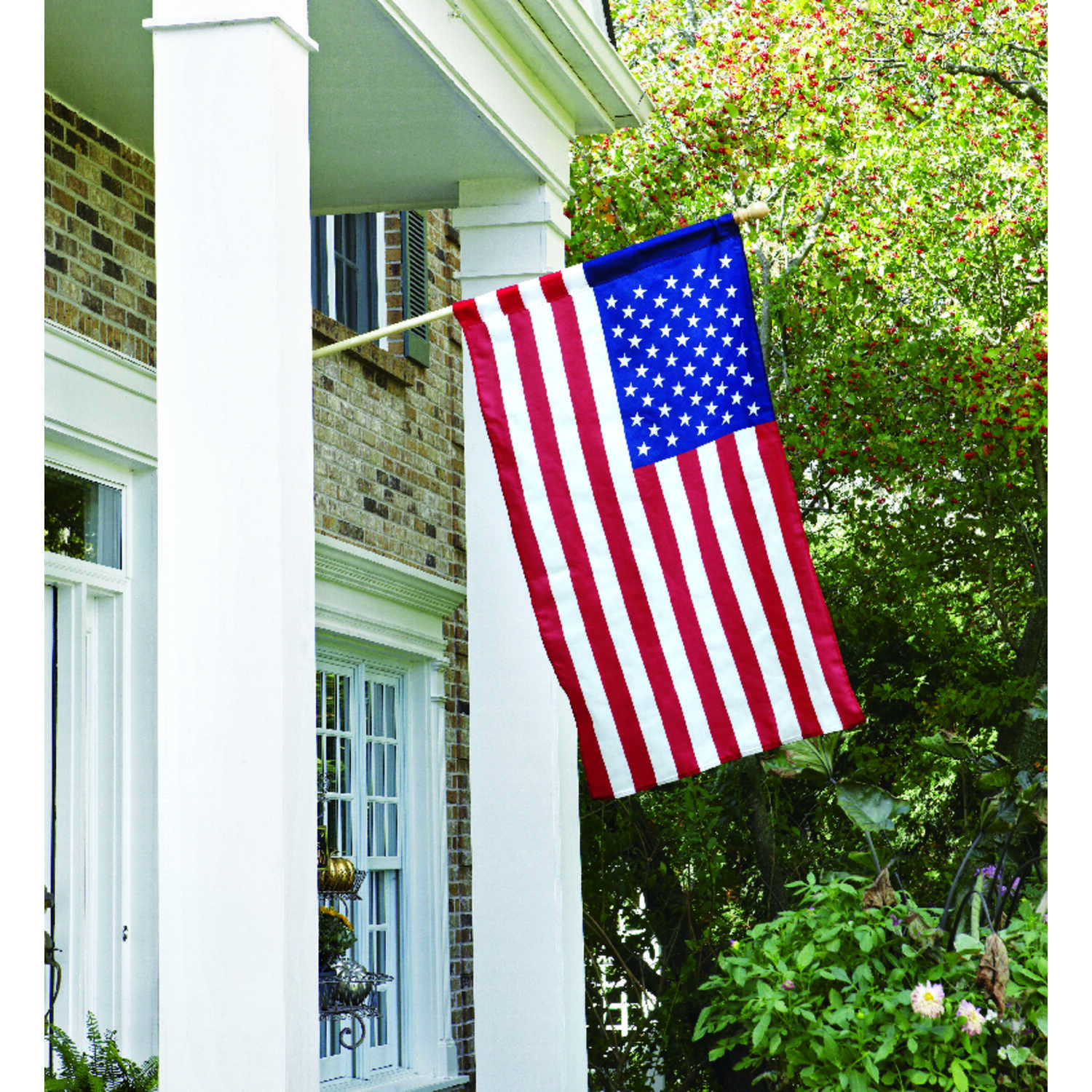 Valley Forge  American  Flag Kit  2-1/2 ft. H x 48 in. W