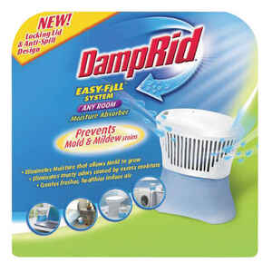 DampRid  No Scent Easy Fill System Any Room  Refillable Moisture Absorber  10.5 oz.