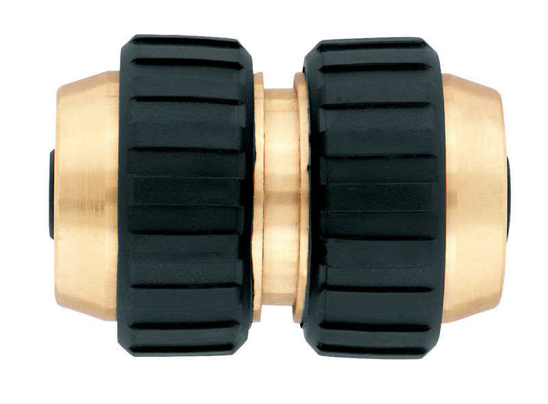 Ace  5/8 in. Brass  Threaded  Female  Hose Mender