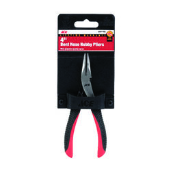 Ace  4 in. Alloy Steel  Bent Nose Pliers
