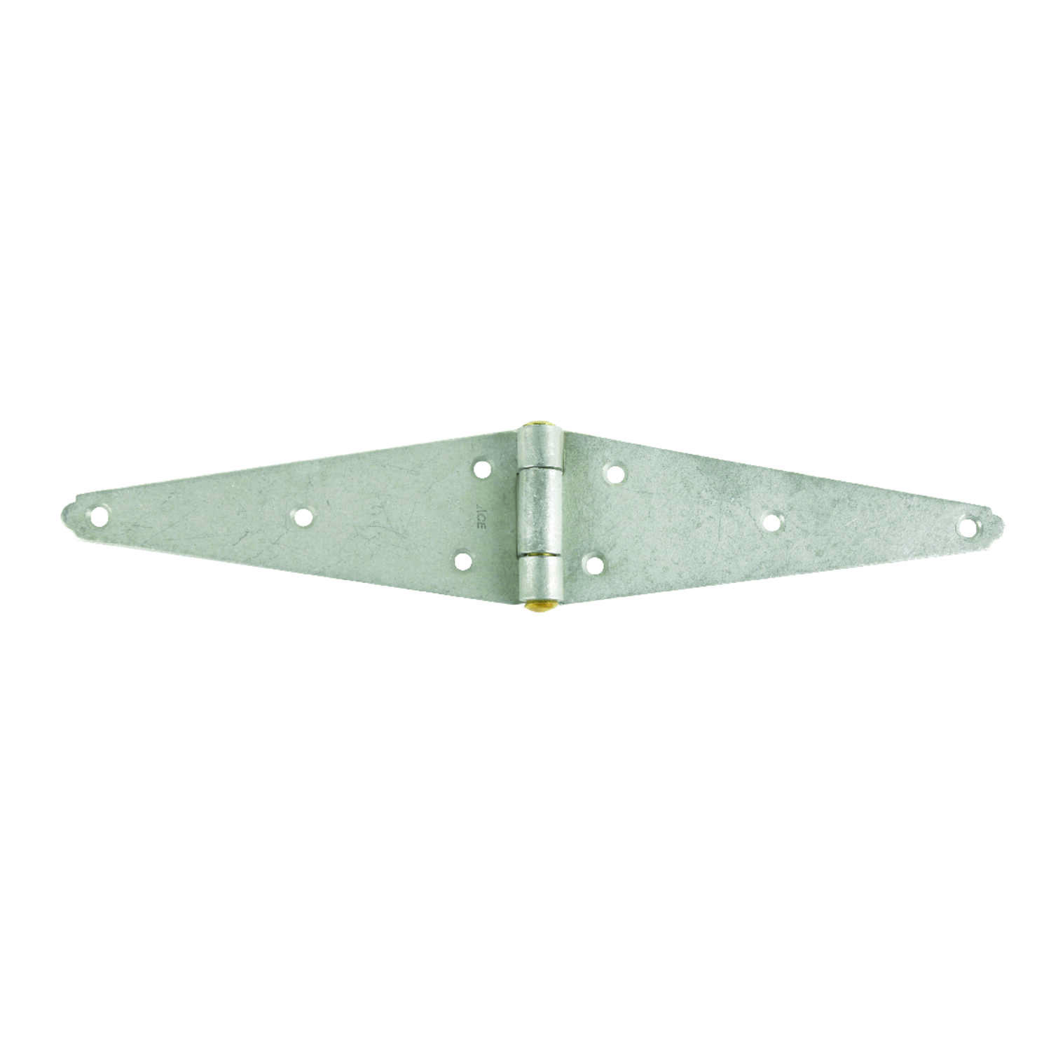 Ace  8 in. L Galvanized  Heavy Duty Strap Hinge  1 pk