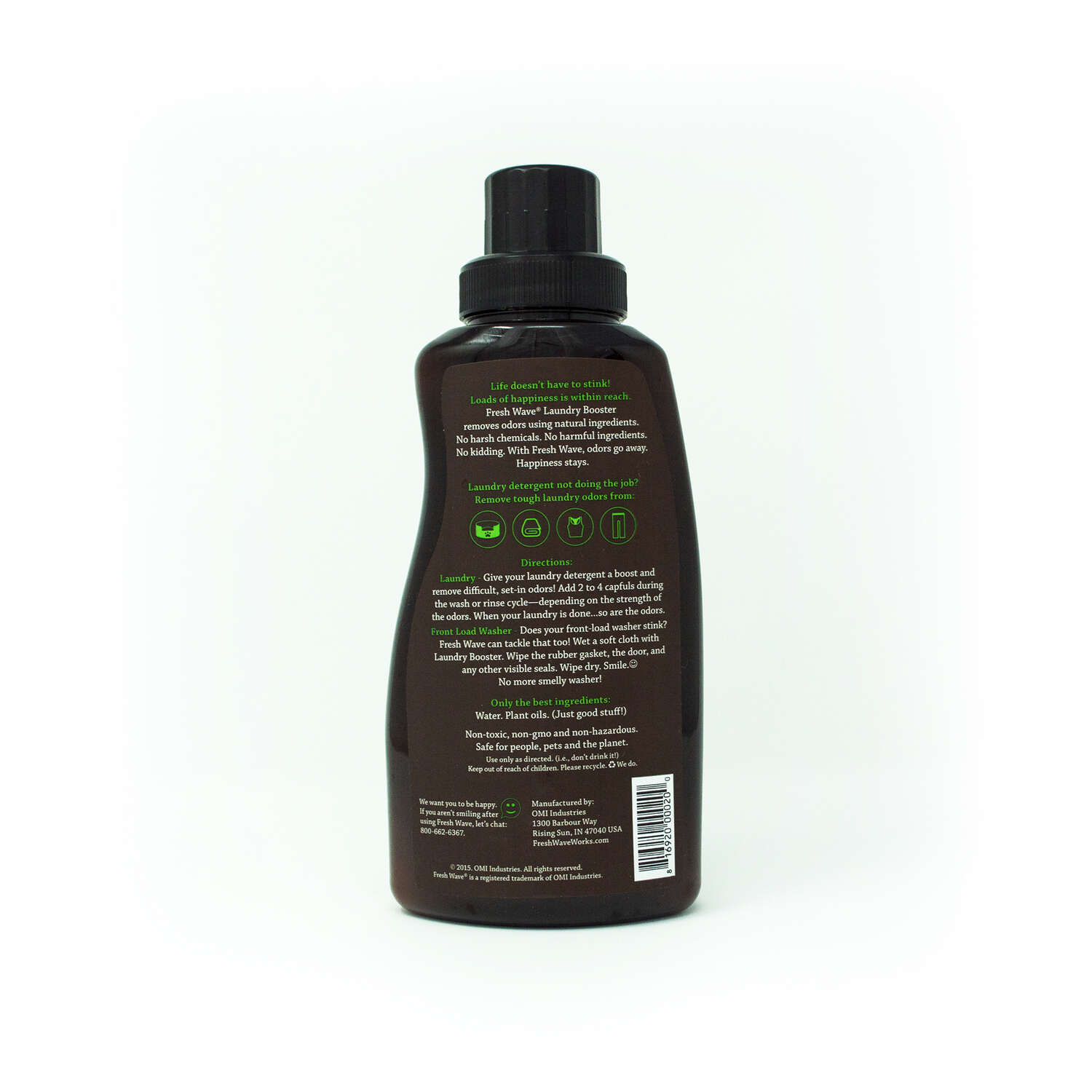 Fresh Wave  No Scent Laundry Booster  24 oz. Liquid