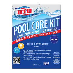 HTH Granule Pool Care Kit 4 lb.