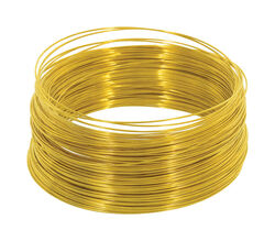 OOK  100 ft. L Brass  24 Ga. Wire