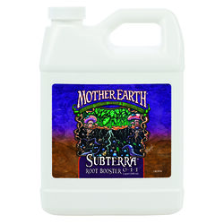 Mother Earth Subterra Root Booster 0-1-1 Hydroponic Plant Supplement 1 qt.
