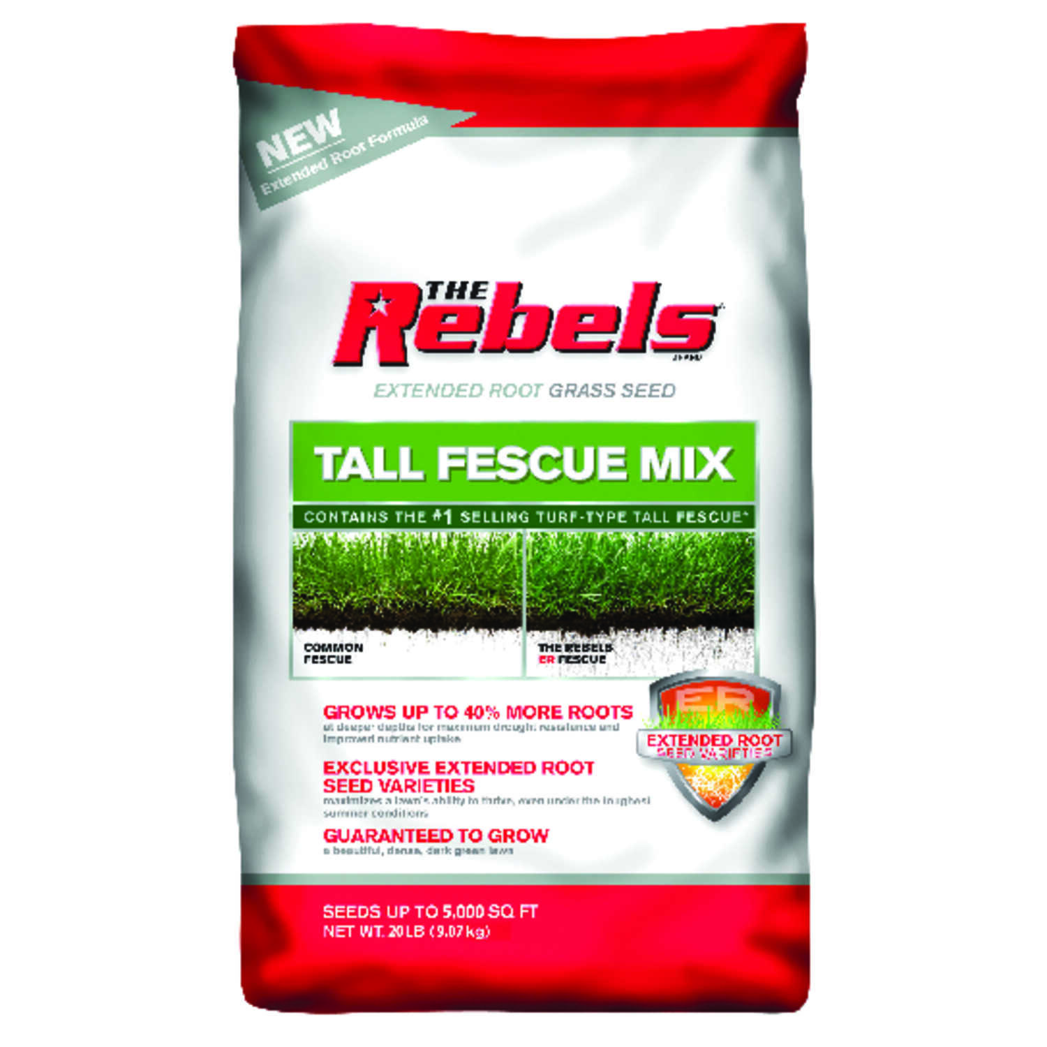 Pennington  The Rebels  Tall Fescue  Grass Seed  20 lb.