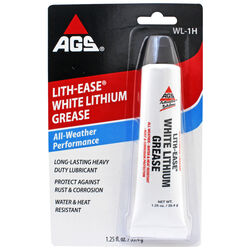 AGS  Lith-Ease  White Lithium  Grease  1.25 oz.