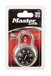 Master Lock  2 in. H x 1-7/8 in. W Steel  Combination Dial  Padlock  1 pk