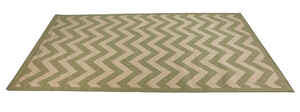 Linon Home Decor  9.5 ft. L x 6.5 ft. W Green  Outdoor Rug