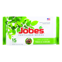 Jobe's  16-4-4  Fertilizer Spikes  15 pk