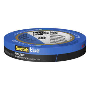 3M  Scotch Blue  0.7 in. W x 60 yd. L Blue  Painter's Tape  1 pk Medium Strength
