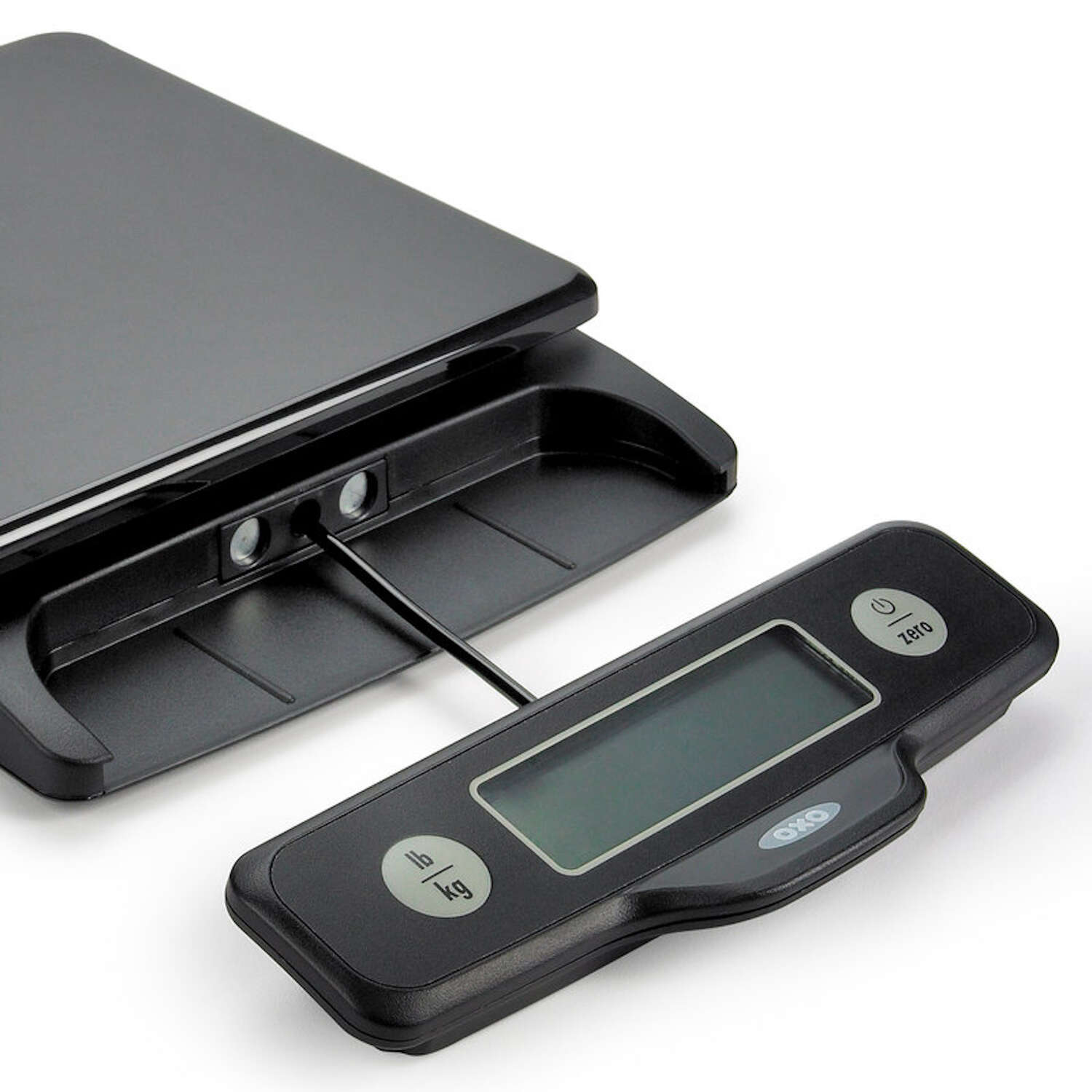 OXO  Good Grips  Black  Digital  Food Scale  5 Weight Capacity