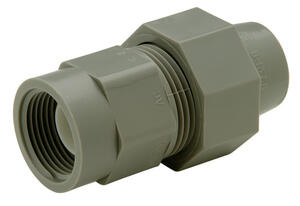 Zurn  Qest  1/2 in. FPT   x 3/4 in. Dia. FPT  Polyethylene  Female Adapter