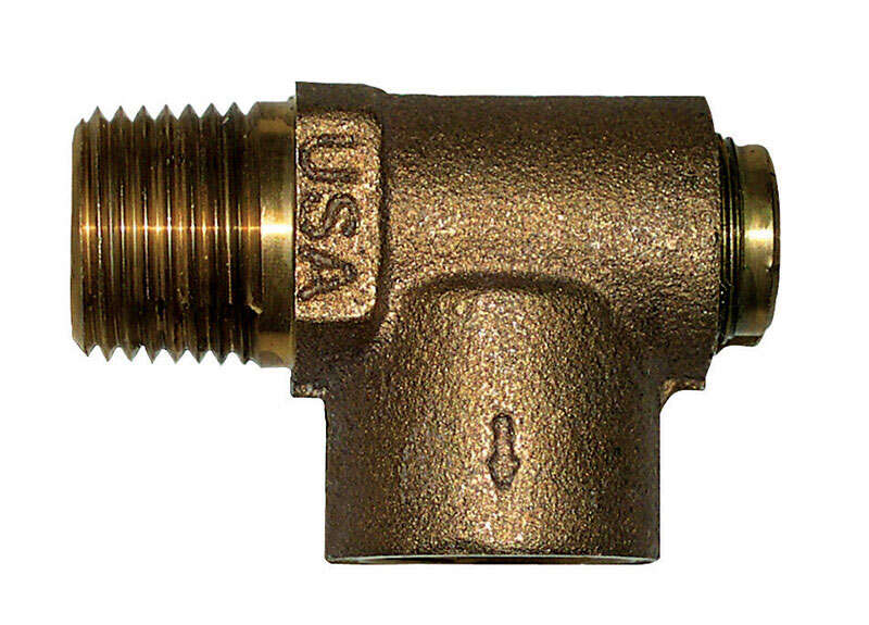 Campbell 3/4 in. Brass Relief Valve