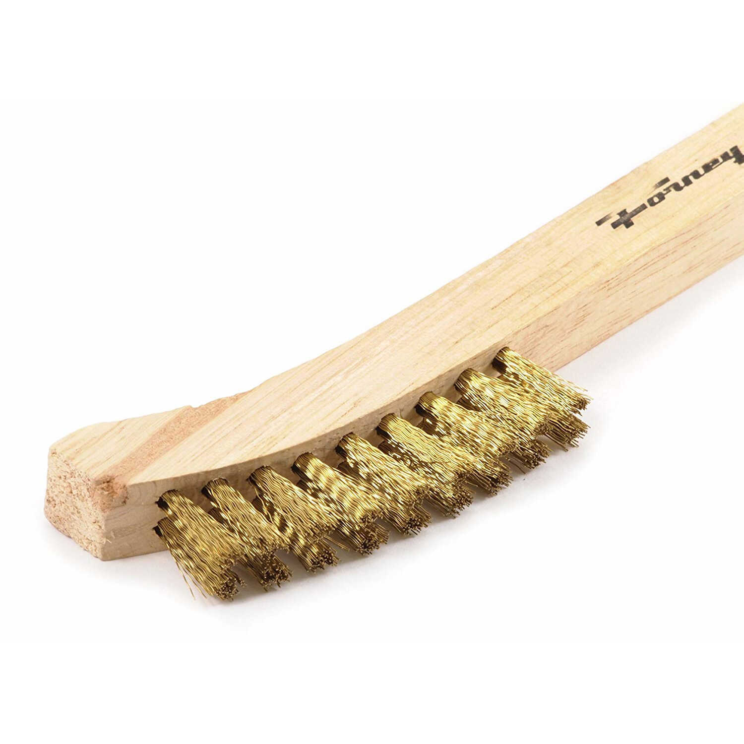 Forney  8-5/8 in. L x 1.5 in. W Scratch Brush  Wood  1 pc.