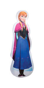 Gemmy  Anna from Frozen  Christmas Inflatable  Fabric  1 pk