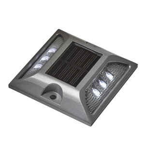 Tommy Docks  Solar Stud Light  Aluminum