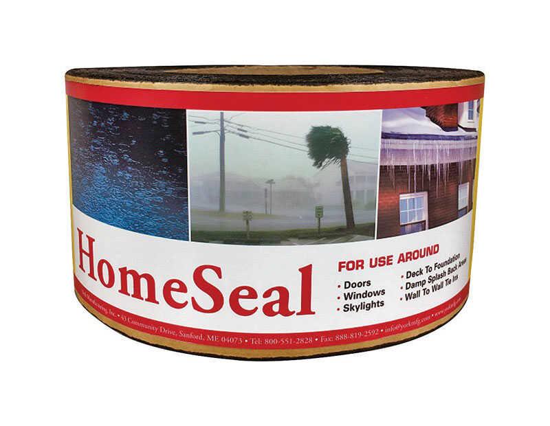 York HomeSeal 12 in  W x 900 in  L Ashphalt/Polyethylene