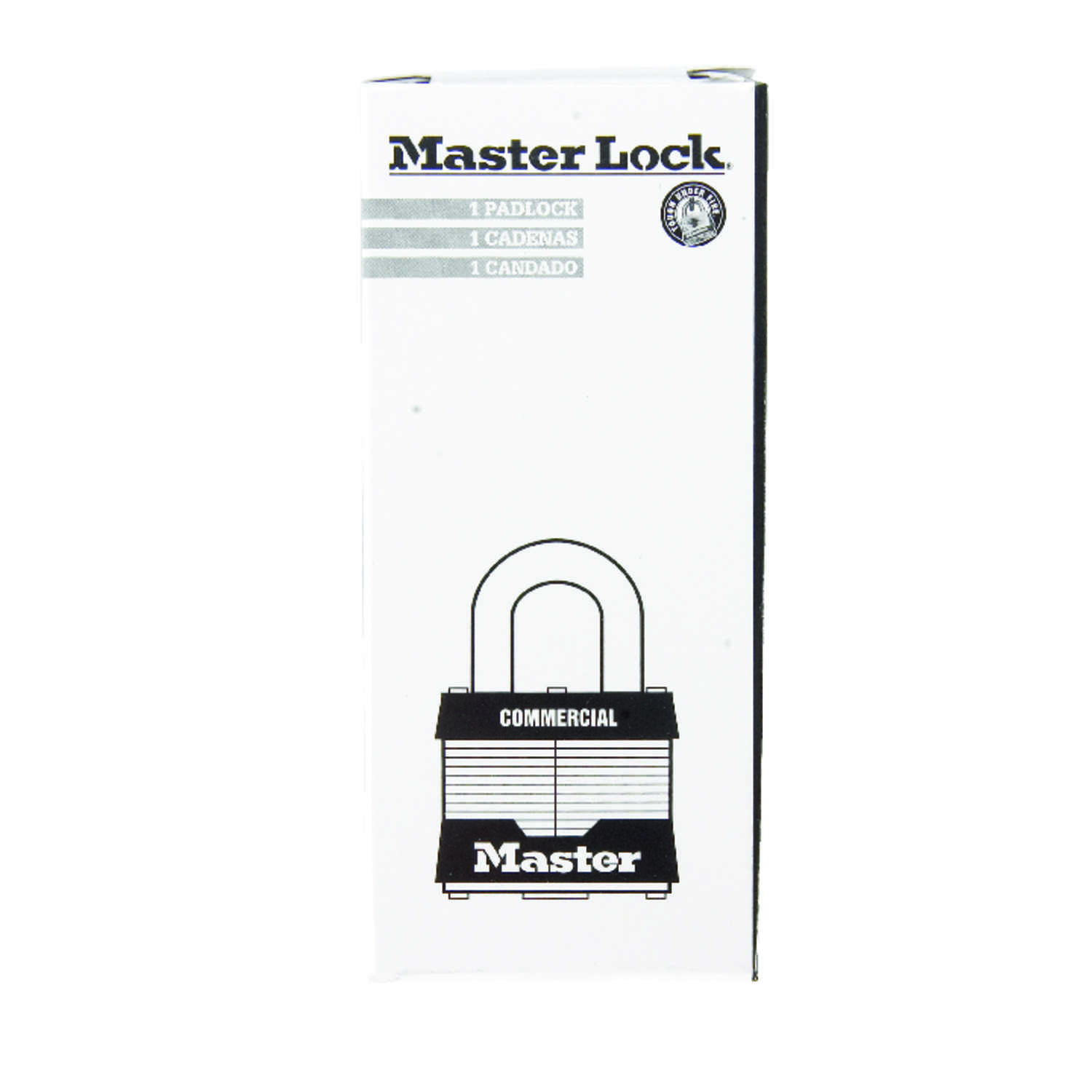 Master Lock  1-5/16 in. H x 1 in. W x 1-3/4 in. L Steel  Double Locking  Padlock  6 pk Keyed Alike