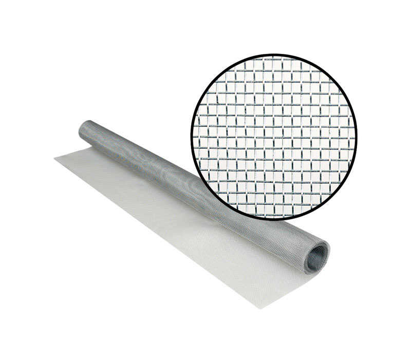 Phifer Wire  28 in. W x 7 ft. L Aluminum  Screen Cloth
