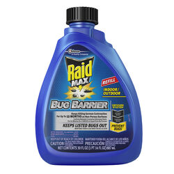 Raid  Bug Barrier  Liquid  For Ants, Fleas, Variety of Insects 30 oz.