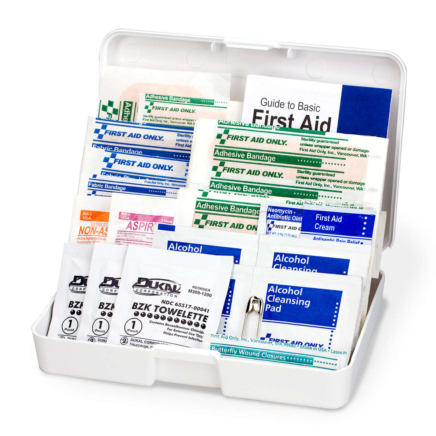 First Aid Only  First Aid Kit  48 count